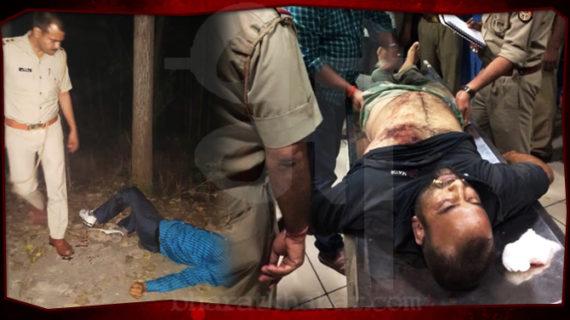 पुलिस ने 25000 का इनामी बदमाश मारा, एक पिस्टल और वैगनआर कार बरामद
