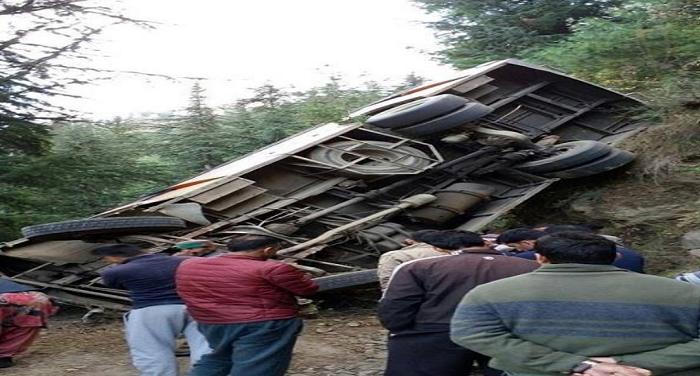 bus accident कुल्लू में हुआ बड़ा हादसा, 44 की मौके पर ही मौत, 50 से ज्यादा घायल