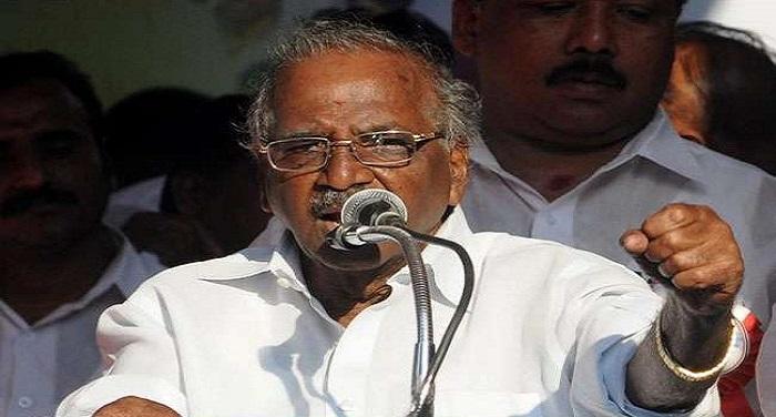30 11 2017 rk nagar by election तमिलनाडु: आरके नगर उपचुनाव में अन्नाद्रमुक ने ई मधुसूदन को बनाया अपना उम्मीदवार