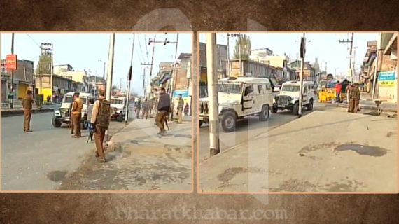 अनंतनाग: सुरक्षाबलों के काफिले पर आतंकी हमला, पांच जख्मी