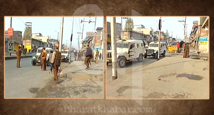 CRPF अनंतनाग: सुरक्षाबलों के काफिले पर आतंकी हमला, पांच जख्मी