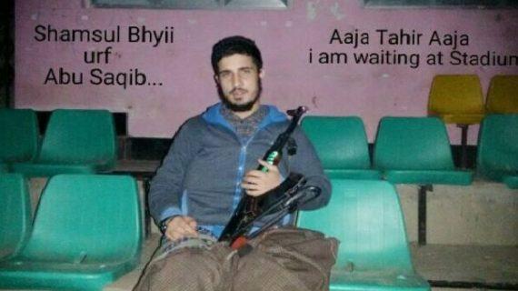 दक्षिणी कश्मीर के अनंतनाग जिले से हिज्बुल का आतंकवादी गिरफ्तार