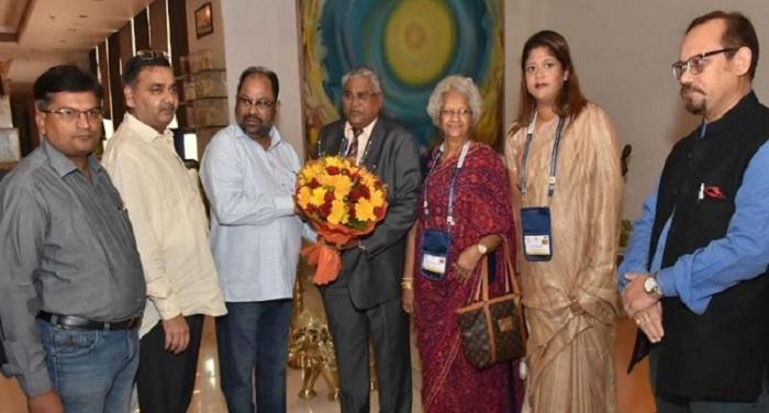 श्रीलंका के प्रांत सबरगामू के मुख्यमंत्री महिपाला हेराथ आये उत्तर प्रदेश के दौरे पर