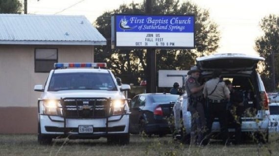 अमेरिका के चर्च में एक व्यक्ति ने की अंधाधुंध फायरिंग, 26 लोगों के मरने की खबर