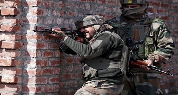 dbudmysv0aiti m1 जम्मू-कश्मीर: सुरक्षा बलों ने पांच आतंकियों को उतारा मौत के घाट, मुठभेड़ जारी