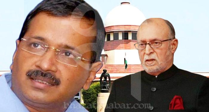 kejriwal and anil baijal