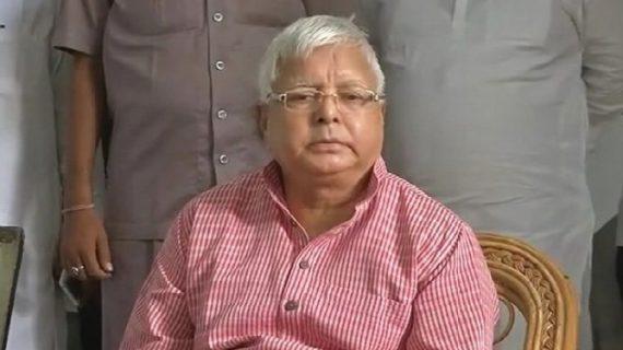राजद के राष्ट्रीय पद के लिए लालू प्रसाद ने किया 10 वीं बार नामांकन