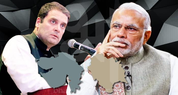 rahul gandhi modi 3 हिमाचल-गुजरात में राजनीतिक दंगल, किसकी बनेगी सरकार ?