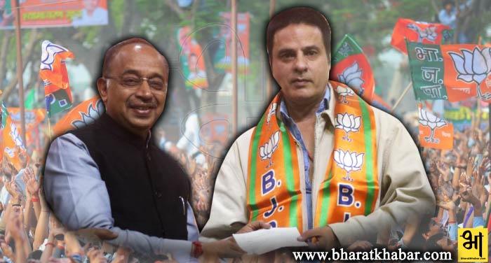 फिल्म आशिकी से बॉलीवुड में धूम मचाने वाले अभिनेता राहुल रॉय ने थामा बीजेपी का हाथ