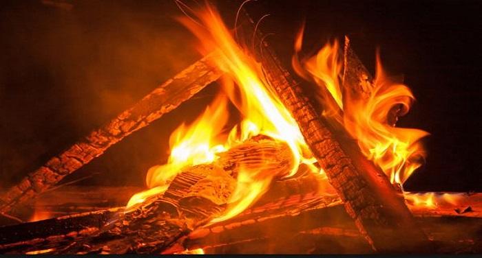 bonfire लेह के हादसे में हुई मौत, सात चिताओं को एकसाथ देखकर दहल उठा सभी का दिल