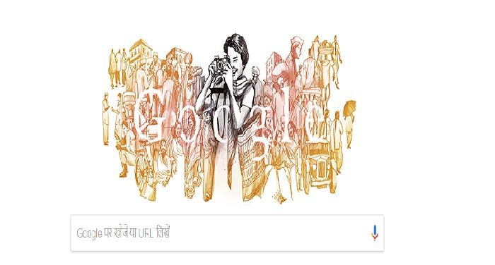 doodle भारत को पहली महिला फोटोग्राफर को गूगल ने डूडल बनाकर दी श्रद्धांजली