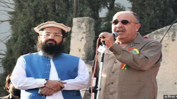 हाफिज सईद की रैली में फिलिस्तानी राजदूत की मौजुदगी से भड़का भारत, जताई आपत्ति