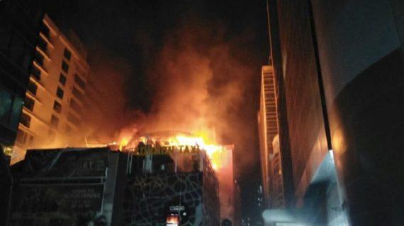 मुंबई के कमला मिल कंपाउंड में लगी भीषण आग, 14 लोगों की मौत
