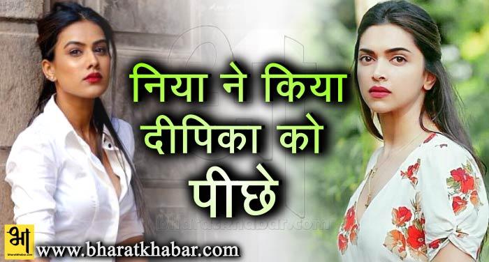 सेक्सिएस्ट वुमन की लिस्ट में निया शर्मा ने दीपिका को किया पीछे