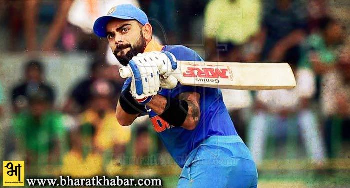 virat kohali तीसरे टेस्ट में अपने दो शतक के बलबूते विराट ने टेस्ट रैकिंग में लगाई छलांग, दूसरे पायदान पर पहुंचे