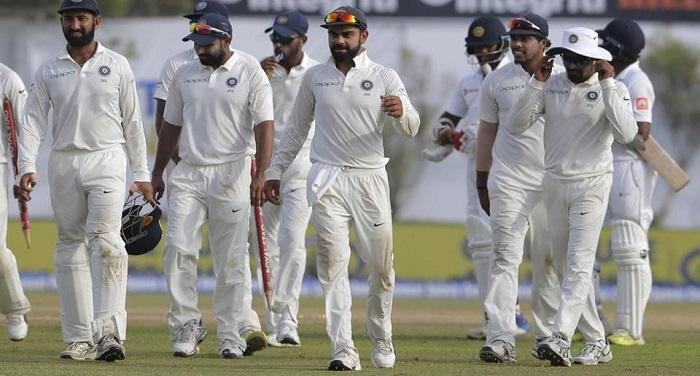 virat kohli 32143bc4 75b5 11e7 b40f 35ec362abc1c टेस्ट सीरीज: दिल्ली में होगा भारत-श्रीलंका के बीच टेस्ट मैच, भारत के जीत सकते है मैच
