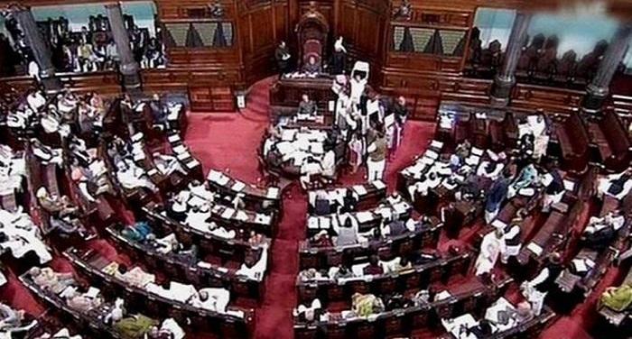 187807 rajyasabha राज्यसभा में पेश हुआ तीन तलाक विधेयक, कांग्रेस के विरोध के चलते राज्यसभा स्थागित