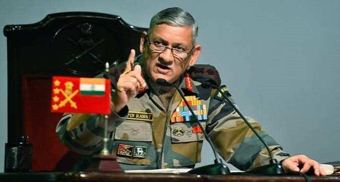 BIPIN RAWAT जनरल रावत ने बालाकोट में आतंकी घुसपैठ को लेकर जताई आशंका