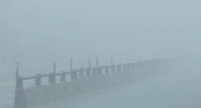fog मौसम की मार ने जीवन किया सुस्त, अभी जारी रहेगा कोहरा