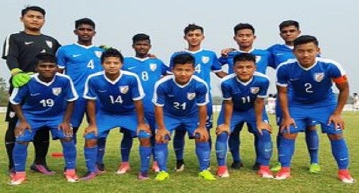 भारतीय अंडर-16 फुटबॉल टीम दुबई दौरे पर