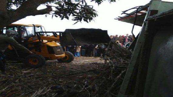 ट्रक में लगी विस्फोटक के साथ आग, दो भाईयों की मौत