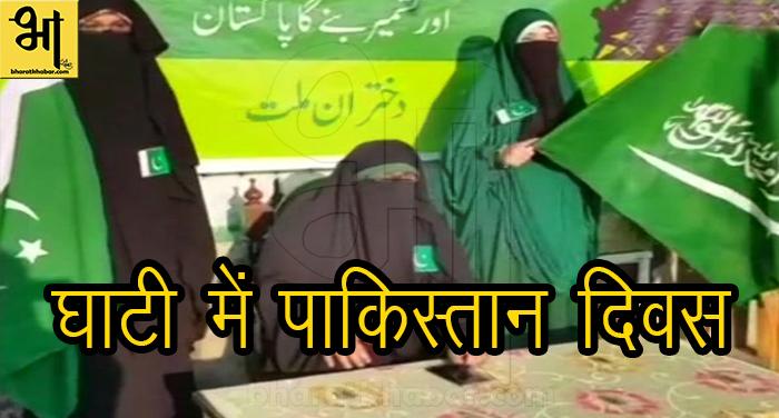 9 हुर्रियत ने घाटी में मनाया पाकिस्तान दिवस, हमारे लिए मुसलमानों का देश पाकिस्तान