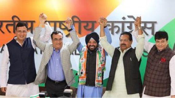 अरविंदर सिंह लवली बीजेपी छोड़ कांग्रेस में हुए शामिल