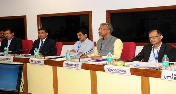 सीएम रावत ने किया नई दिल्ली में विज्ञान भवन में अपर यमुना रिव्यू कमेटी की बैठक में प्रतिभाग