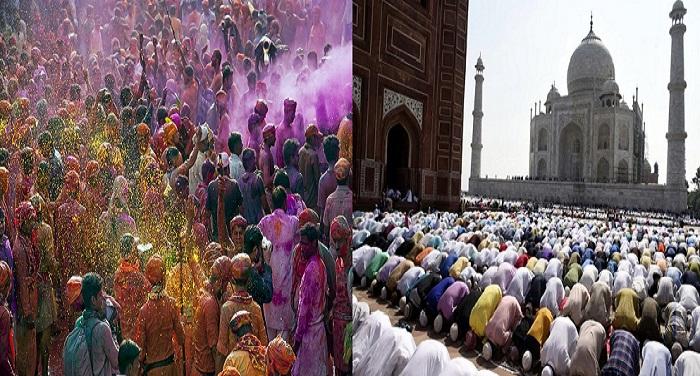 GettyImages 681935024 5a67906088f4fb0037ffda27 जुम्मे पर पड़ रही होली, मुस्लिम धर्मगुरुओं ने बदला नमाज का समय