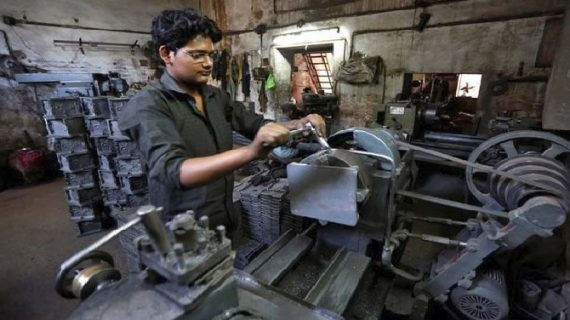 औद्योगिक उत्पादन दर में गिरावट