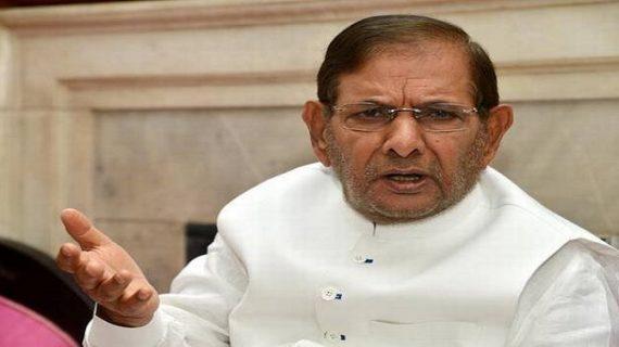 दलित महापंचायत में पहुंचे शरद, नीतीश सरकार को बताया दलित विरोधी