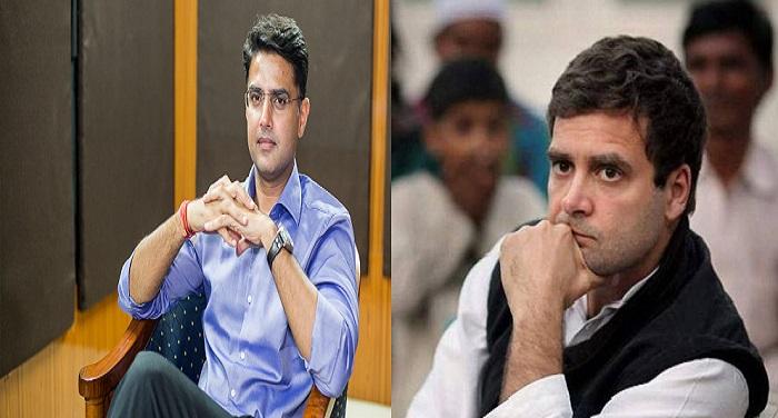 Sachin Pilot 1 राजस्थान के सियासी संग्राम में आया नया ट्विस्ट, क्या राहुल के आगे झुक गये पायलट..