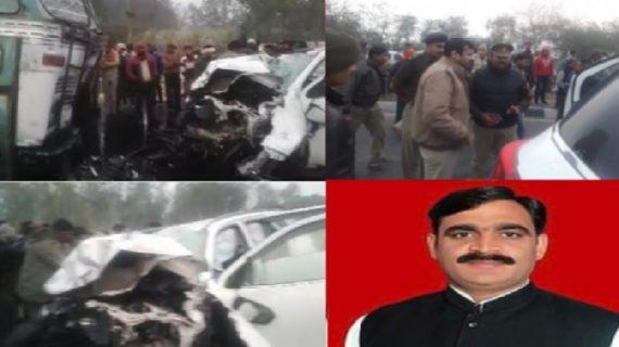 सड़क दुर्घटना में बीजेपी के चार विधायकों की मौत, पीएम मोदी हुए दुखी