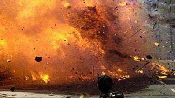 बम ब्लास्ट की घटना को अंजाम देने आया युवक घायल, समय से पहले फटा बम