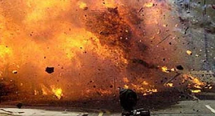 blasts बम ब्लास्ट की घटना को अंजाम देने आया युवक घायल, समय से पहले फटा बम