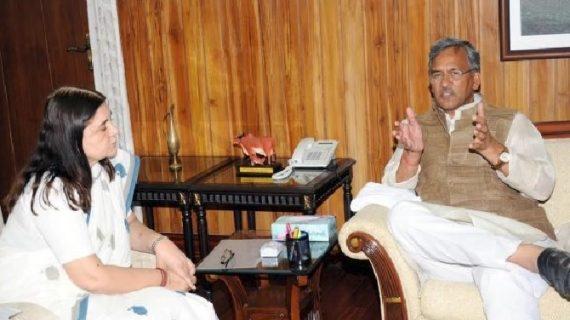प्रकाशोत्सव कार्यक्रम में मेनका गांधी और सीएम त्रिवेन्द्र होंगे शामिल