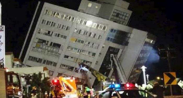 ताइवान में 6.4 तीव्रता का भूकंप, 2 मरे, कई घायल