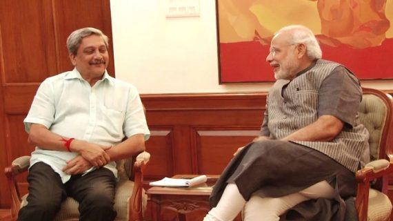 अस्पताल में भर्ती गोवा के सीएम पर्रिकर, पीएम मोदी ने की मुलाकात
