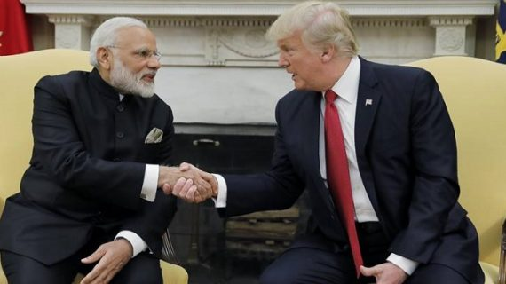 पीएम मोदी और राष्ट्रपति ट्रंप के बीच मजबूत संबंध: अमेरिका