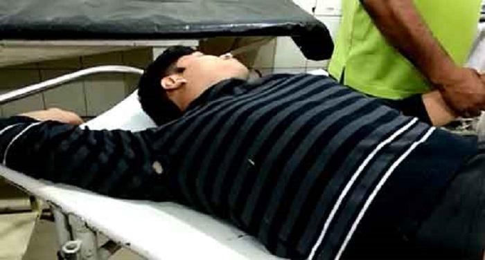 06032018223110 दरोगा की पत्नी और बेटे की हत्या करने वाला शातिर गिरफ्तार, मुठभेड़ के दौरान हुआ घायल