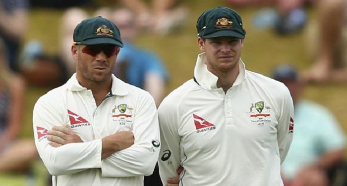 David Warner Steven Smith क्रिकेट ऑस्ट्रेलिया ने लगाया स्टीव और वॉर्नर पर एक साल का प्रतिबंध