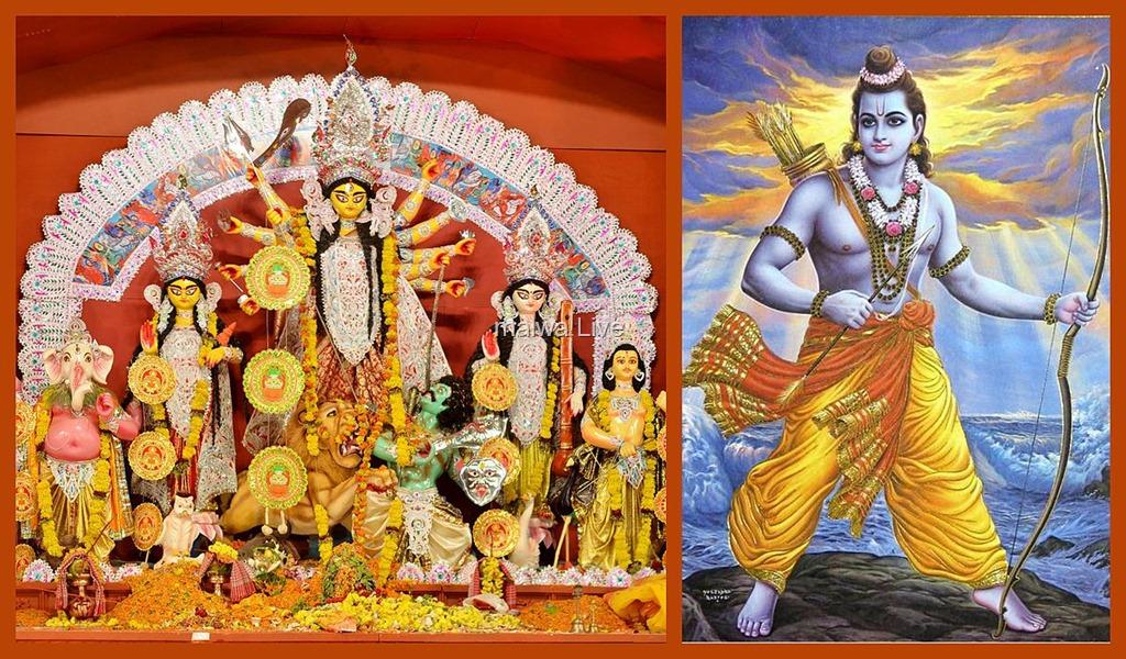 Navratri festival Durga and Rama traditions एक साथ होगी दुर्गाष्टमी और रामनवमी जाने कैसे करना हैं पूजन