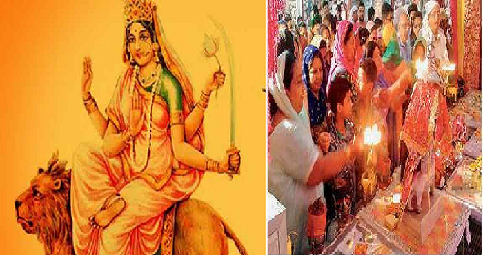 Untitled 8 देहरादून में नवरात्र के छठे दिन भक्तों ने की मां कात्यायनी की पूजा