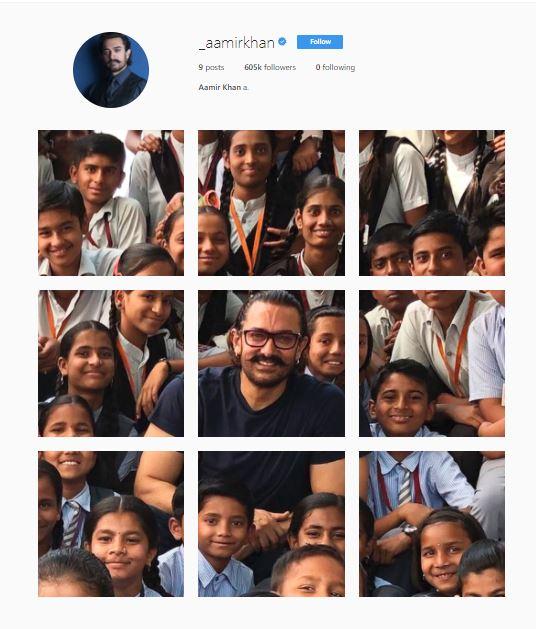 aamir khan 1 इंस्टाग्राम पर इस अनोखे अंदाज में आमिर खान ने पोस्ट की फोटो, फैंस भी पूछ रहे ये न्यू स्टाइल