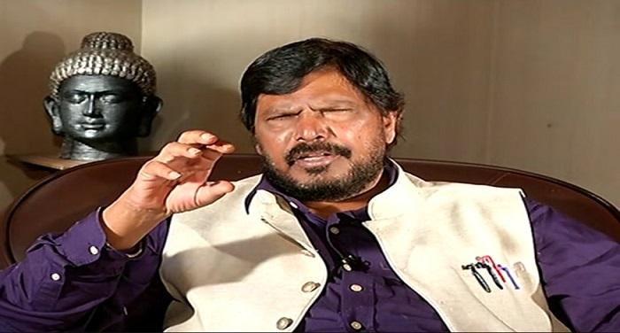 athawale chunk राहुल की तुलना मोदी से करना गलत, 2019 में एनडीए बनाएगी सरकार: अठावले