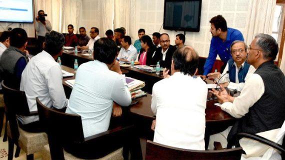 मुख्यमंत्री त्रिवेंद्र सिंह रावत ने पलायन आयोग की वेबसाइट को किया लांच