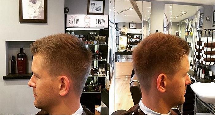 haircut 3 गर्मियों के मौसम में दोस्त की शादी में जाने के पहले ऐसे बने स्टाइलो