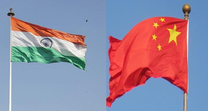 india and china flag भारत-चीन के बीच तीन दिवसीय भू-आर्थिक सम्मेलन, कई देशों के प्रतिनिधि होंगे शामिल