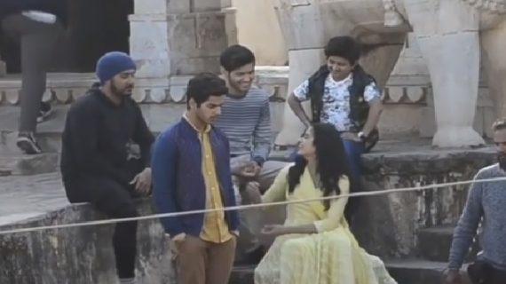 वायरल वीडियो: क्या है जाह्नवी के सेट पर लौटने वाली वीडियो का सच