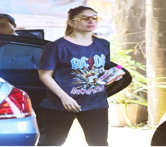 kareena जिम के लिए करीना ने पहनी इतनी महंगी टी-शर्ट, दाम जानकर उड़ जाएंगे होश